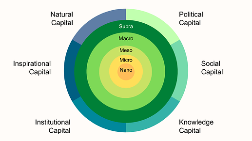 Multiple Capital and Value Flow